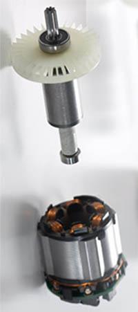Hitachi brushless motor